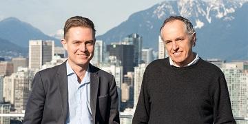 Drs Daugaard and Sorensen (source: UBC Faculty of Medicine)