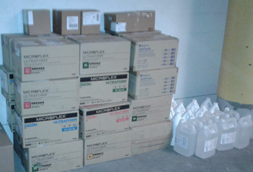 VPC COVID-19 PPE donation