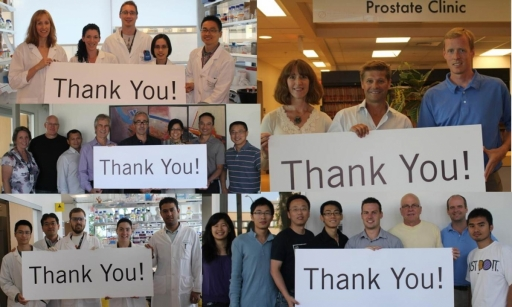 Our scientists, physicians and staff thank you for your support.