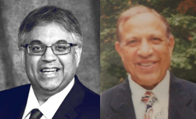 Dr. Kishor Wasan (L) and Professor Madanlal T. Wasan (R)