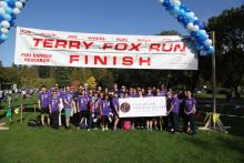 VPC Terry Fox team 2016