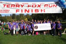 VPC Terry Fox Run participants at Stanley Park